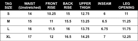 Rogue Territory Trunks Sizing