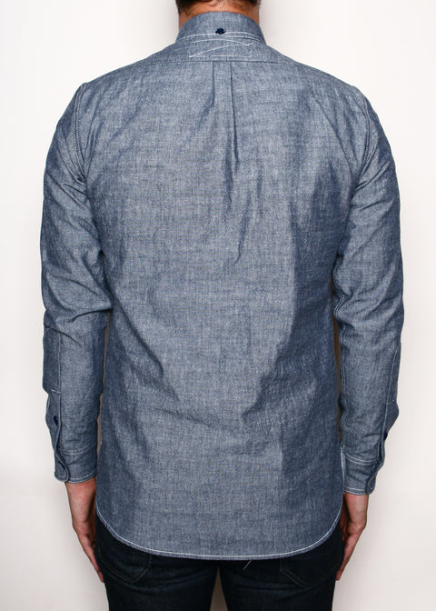 Rogue Territory Blue Chambray Jumper Shirt