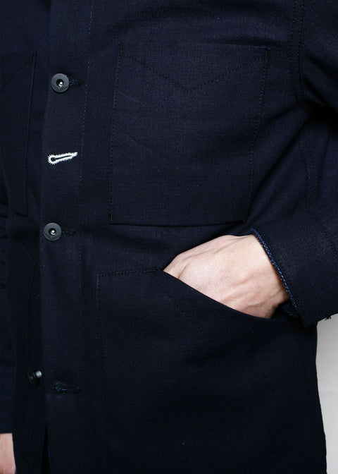 Open Range Jacket // Indigo Selvedge Canvas
