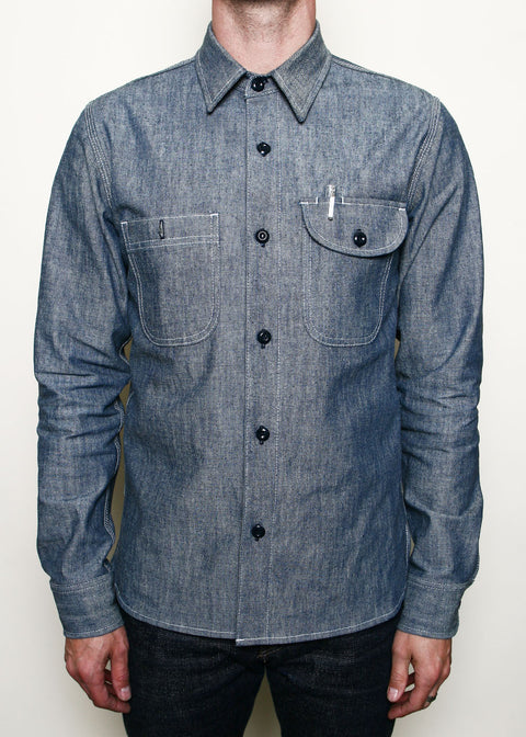 Work Shirt // Light Indigo Canvas