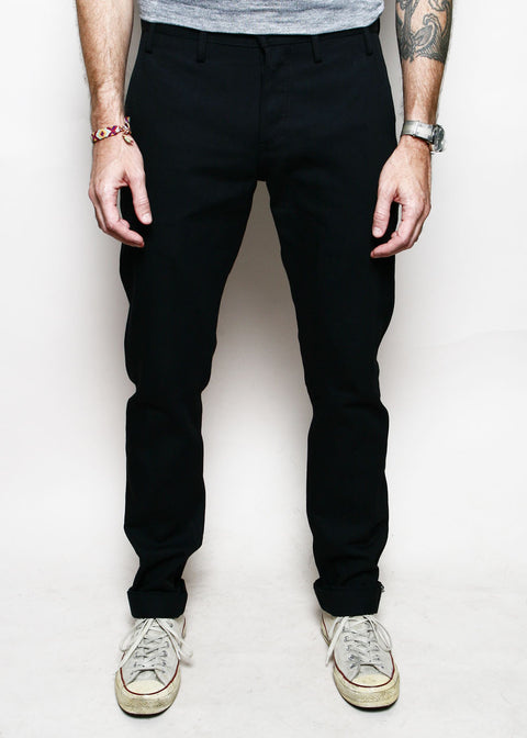 Officer Trousers // Stealth 11oz