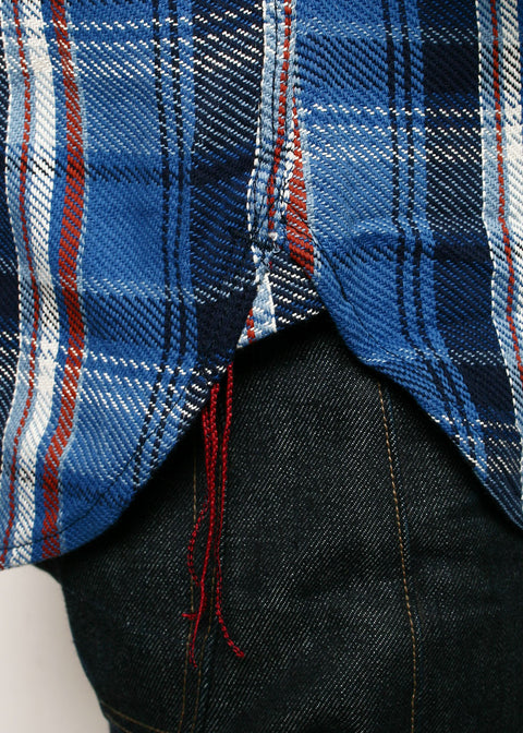 BM Shirt // Blue Plaid