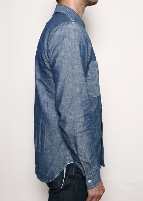 BM Work Shirt // Indigo Chambray