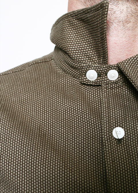 BM Work Shirt // Brown Sashiko