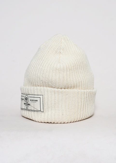 Watchmens Cap // Cream