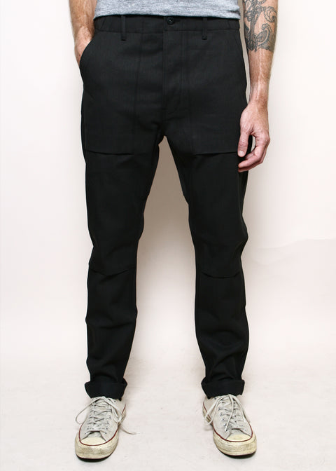 Safari Weekender Pants // Faded Black Denim