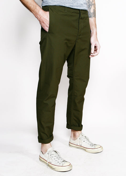 Boarder Pants // Olive Ripstop