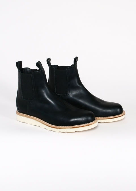 Chelsea Boots // Black Oiled Leather