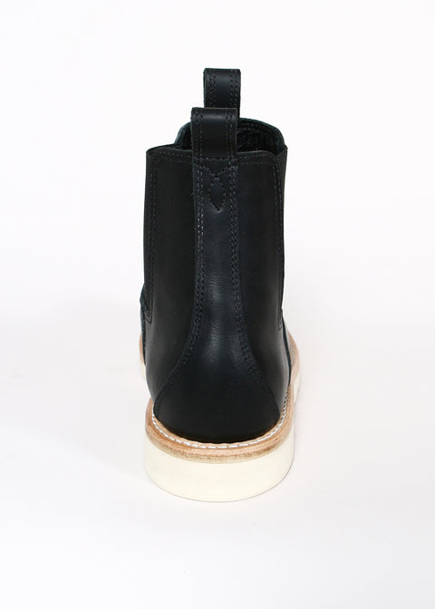 Chelsea Boots Black Oiled Leather