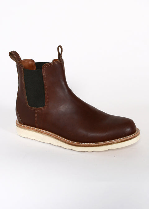Chelsea Boots // Brown Oiled Leather