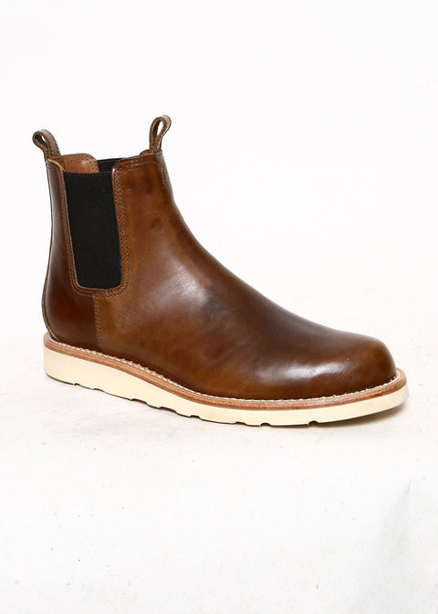 Chelsea Boots // Waxed Brown