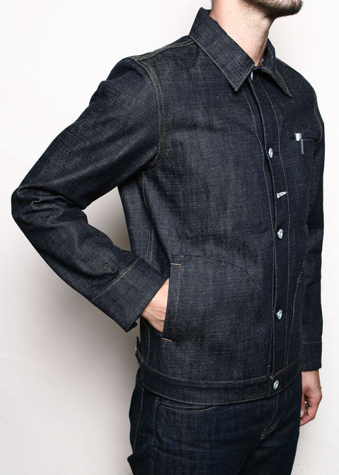 Supply Jacket // Cryptic Indigo