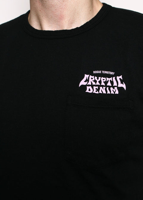 Pocket T-Shirt // Cryptic Pink