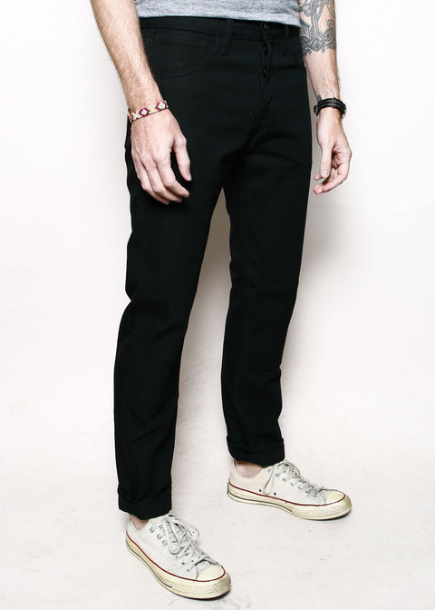 Double Knee Stanton // 12oz Black