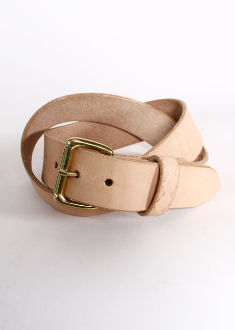 EDG x RGT Natural Leather Belt