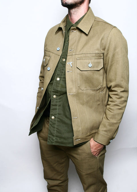 Cruiser Jacket // Tan Denim