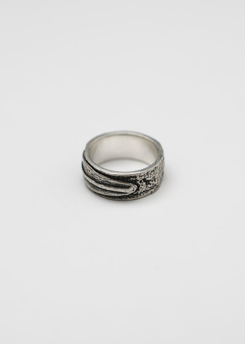 Feather Ring // Sterling Silver