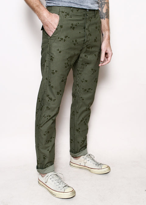 Field Pants // Grid Camo