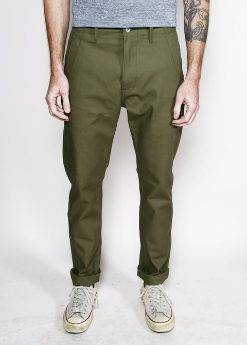 Field Pants // Olive Twill 12oz