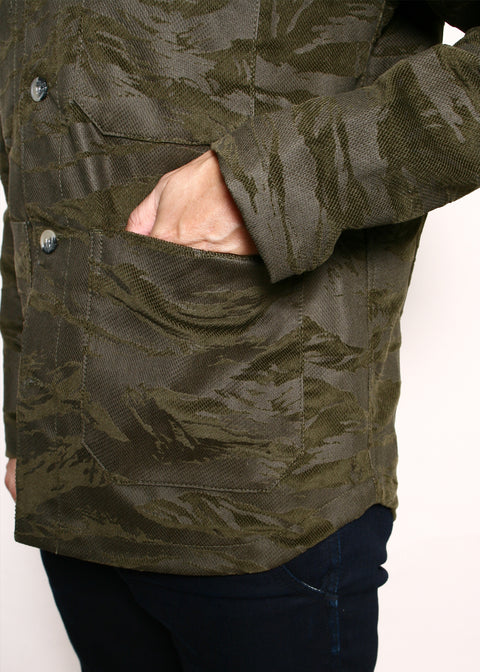 Harbor Jacket // Tiger Stripe Camo
