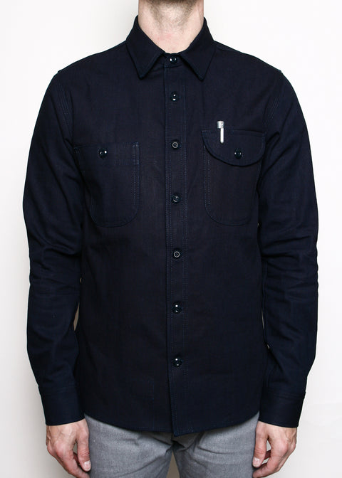 Work Shirt // Indigo Selvedge Canvas