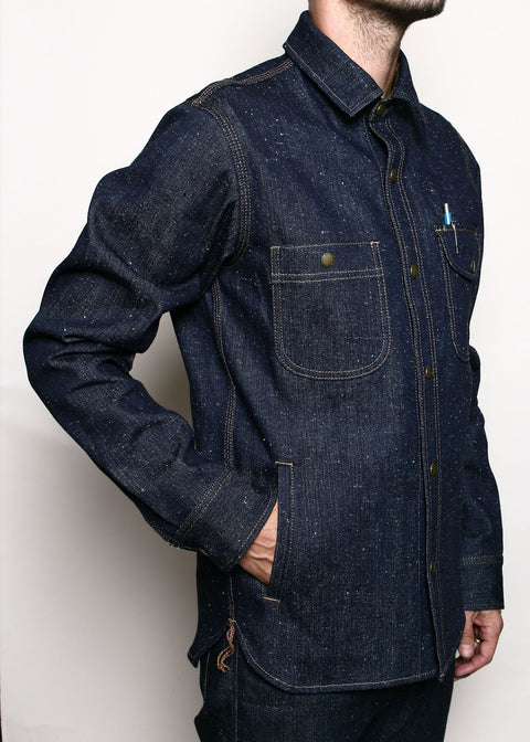 Service Shirt // 14oz Neppy Indigo