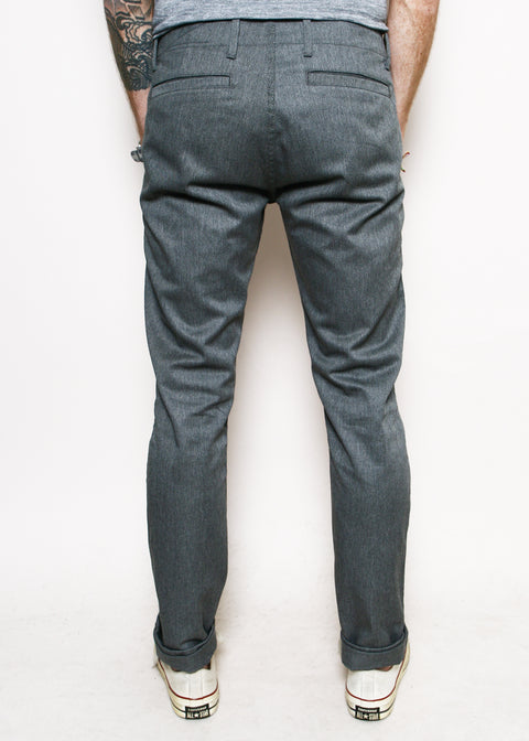 Infantry Pants // Heather Grey Denim