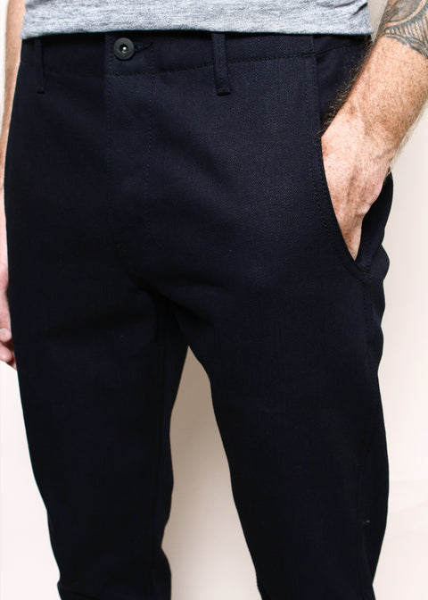 Infantry Pants // Dark Indigo