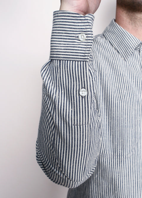 Jumper Shirt // Neppy Classic Stripe