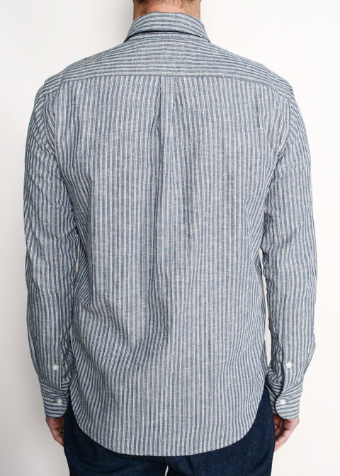 Jumper Shirt // Neppy Double Stripe