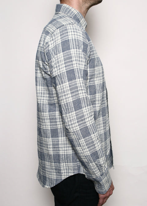 Jumper Shirt // Linen Blend Plaid