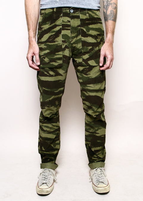 Safari Weekender Pants // Lizard Camo Corduroy