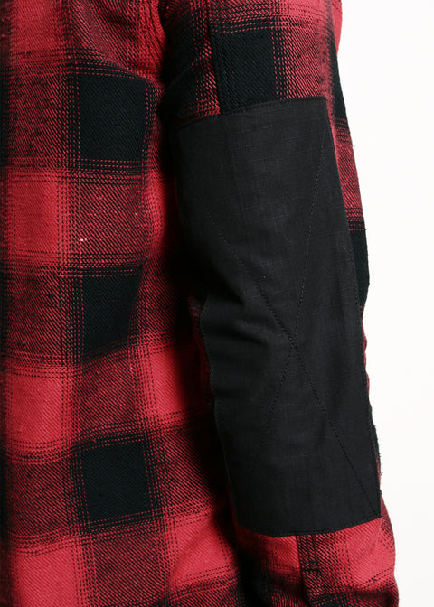 Mechanics Shirt // Neppy Red Plaid