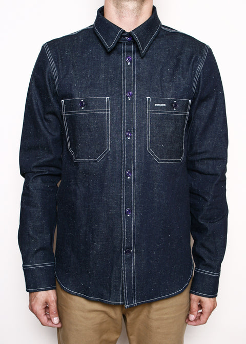 BM Work Shirt // Neppy Denim