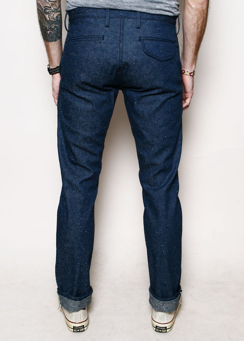 Officer Trousers // Slubby Indigo Denim