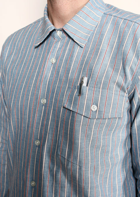 Oxford Shirt // Selvedge Stripe