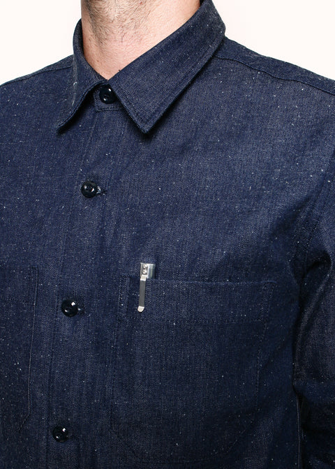 Patrol Shirt // 9oz Neppy Denim