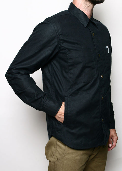 Patrol Shirt // Waxed Black