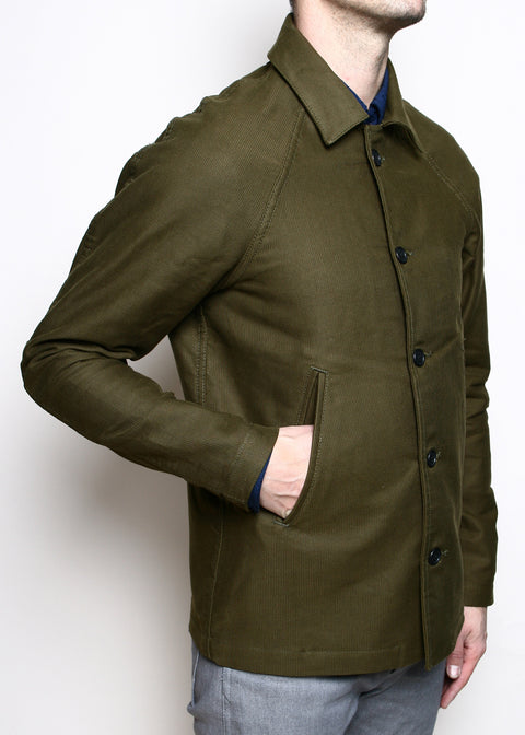 Peacoat // Olive Jungle Cloth