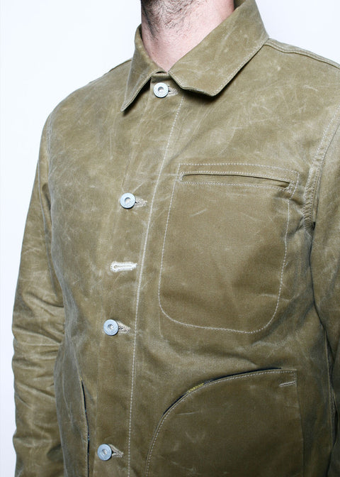 Supply Jacket // Lined Tan Ridgeline