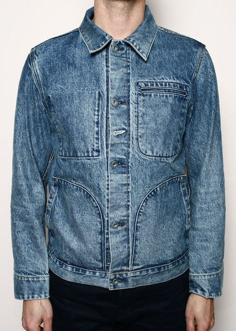 Supply Jacket // River Wash Indigo