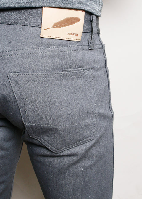 SK // Neppy Grey Denim
