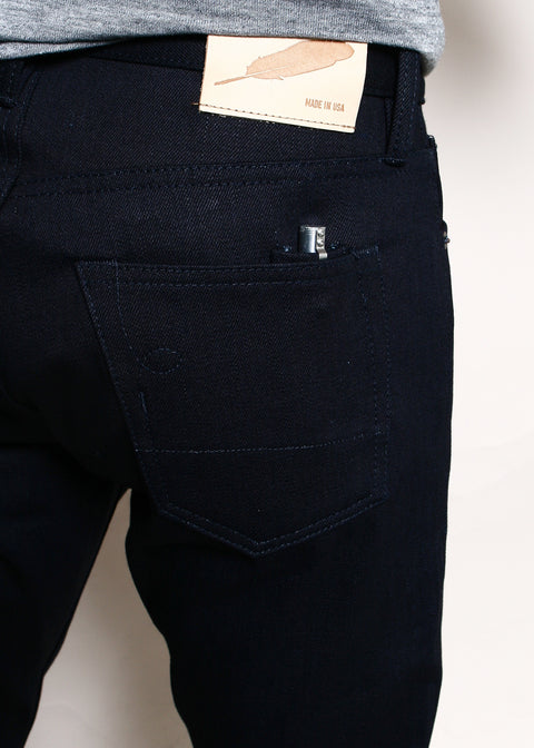 Strong Taper // 16.75oz Double Indigo Slub