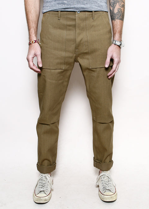 Safari Weekender Pants // Tan Denim