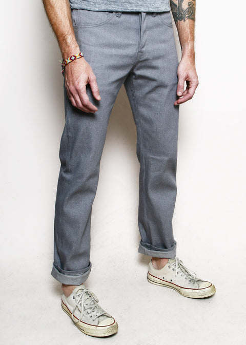 Stanton // Neppy Grey Denim