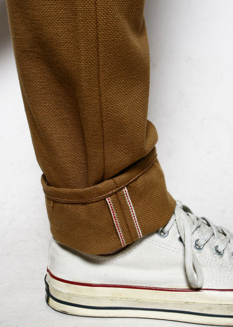 Strong Taper // Copper Selvedge Canvas