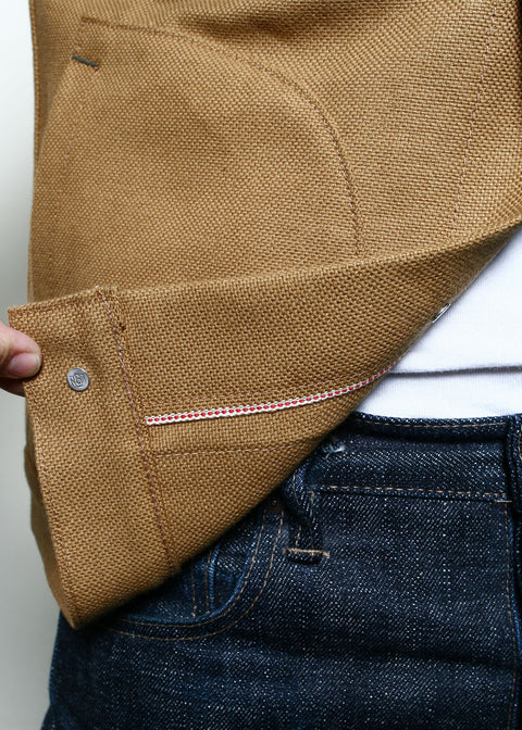 Supply Jacket // Copper Selvedge Canvas