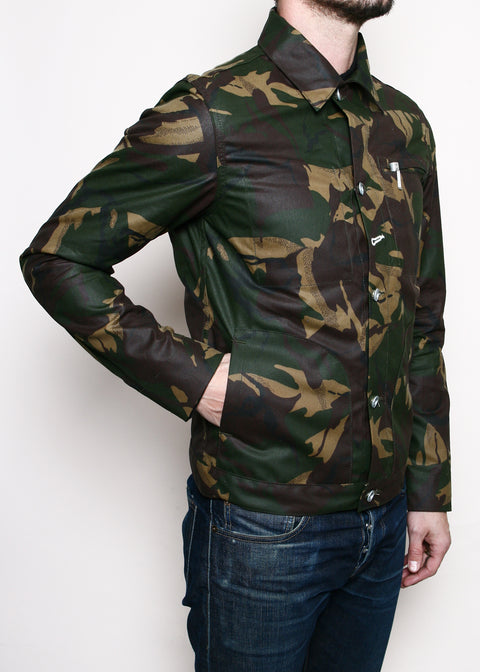 Supply Jacket // Waxed Camo Ridgeline