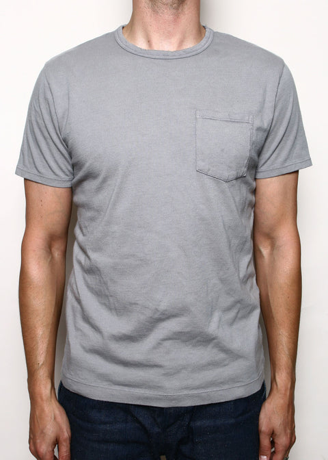 Pocket T-Shirt // Faded Grey