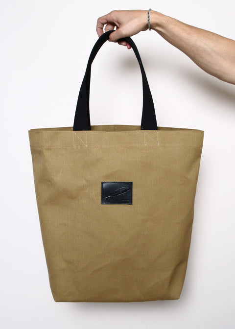 Tote Bag // Tan Black